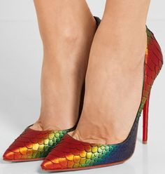 a2edc7637d20 Christian Louboutin So Kate 120 python pumps