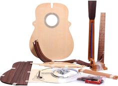 Available at Guitar Center. Martin Build Your Own Guitar Kit. A dream of Jeff's next hobby. Acoustic Guitar Kits, Martin Acoustic Guitar, Martin Guitars, Guitar Bag, Cigar Box Guitar, Build Your Own Guitar, Making Musical Instruments, Music Instruments, Guitar Building
