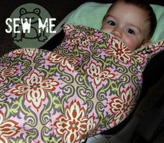 Car Seat and Stroller Baby Blanket EPattern and by toadstreasures, $5.00