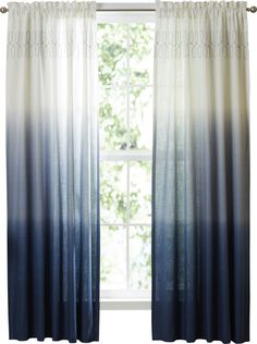 Wilkinson Ombre Pinch Pleat Single Curtain Panel