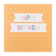 Say Happy Birthday with this super cute Greeting Card. The best way to celebrate someone's special day.