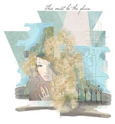 This must be the place by annacullart on Polyvore featuring art, contestentry, peacelovehappiness, etsyevolution and artflashmob13