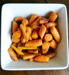 Roasted Carrots with Chinese Five Spice #recipe