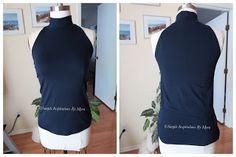Faye's Sewing AdventureMyra - 1 Simple Inspiration - Burda 6795 High Neck Dress, Sewing, Simple, Inspiration, Tops, Dresses, Fashion, Turtleneck Dress, Vestidos