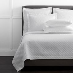 The Best Duvet Inserts: 7 Things to Look For (To Get a Fluffy, Hotel-Like Bed)!   Driven by Decor White Coverlet, White Bedding, White Bedroom, Master Bedroom, Driven By Decor, Dorm Essentials, The Company Store, Guest Bed, Guest Room