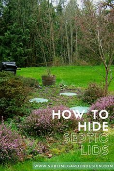 Septic tank cover | Outside ideas | Septic tank covers ...
