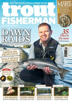 Issue 514 on sale September 2018 Fly Fishing Books, Fishing Magazines, Carp Fishing, Dawn Raid, Sea Angling, Trout, Latest Issue, Digital, Brown Trout