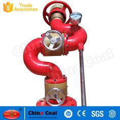 Shandong China Coal Group Co. Water Cannon, Steel Water, Monitor, The Unit, Stainless Steel, Fire, China, Cap, Group