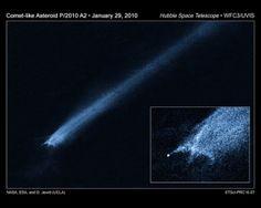 Hubble Telescope Ufo   world famous Hubble Telescope imaged what seems to be an X shaped UFO ...