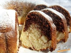 Czech Desserts, Types Of Pastry, German Cake, Food Cakes, Kakao, Fall Recipes, Yummy Treats, Food To Make, Banana Bread