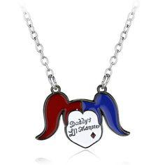 Collar Baseball Bat Necklace&Pendant Harley Quinn Necklace Women Men Souvenir