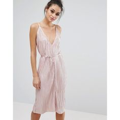 Love & Other Things Glitter Lurex Culotte Jumpsuit (€31) ❤ liked on Polyvore featuring jumpsuits, pink, jump suit, plunge-neck jumpsuits, tall jumpsuit, pink jumpsuit and plunging neckline jumpsuit