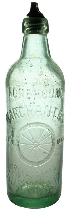 Marchant & Co., Australia. Horehound. Wheel trade mark. 26 oz