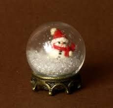 Image result for Mini Christmas Snow Globes