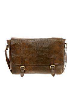 Leather Satchel #fathersday