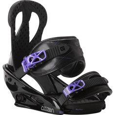 Burton Citizen Snowboard Binding Black Womens BLACK M -- You can find out more details at the link of the image. (This is an affiliate link) #SnowboardBindings