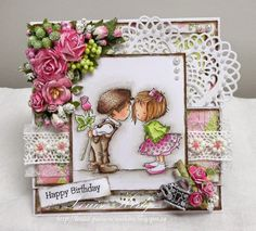 Passion Creations: Happy Birthday.... LOTV Design Collective Card