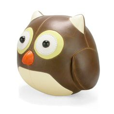 Owl Bookend in brown or black