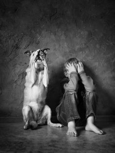 ☆ Doggy-see, doggy-do. Animals For Kids, Animals And Pets, Funny Animals, Cute Animals, I Love Dogs, Puppy Love, Tier Fotos, Beautiful Children, Mans Best Friend
