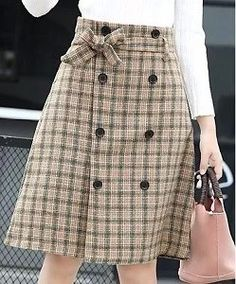Casual Skirt Outfits, Girly Outfits, Cute Skirts, Cute Dresses, Fall Dresses, Cotton Dresses, Diy Dress, Dress Skirt, Swag Dress