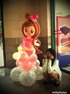balloon twisting images | Miss Jocelyn - Singapore Balloon Artist. Balloon twisting, birthday ...