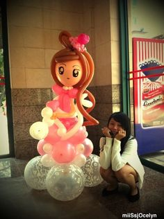 balloon twisting images | Miss Jocelyn - Singapore Balloon Artist. Balloon twisting, birthday ...