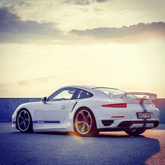 TechArt Porsche 911 Turbo. CLICK the PICTURE or check out my BLOG for more: http://automobilevehiclequotes.tumblr.com/#1506291653