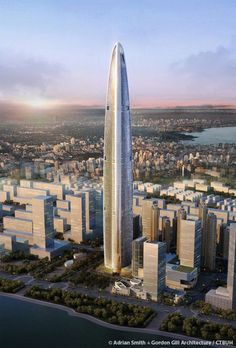 Wuhan Greenland Center, Wuhan-China | 636 m / 2,087 ft |Under Construction, Completion 2018 | Adrian Smith + Gordon Gill Architecture, ECADI