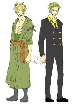 Sanji & Zoro
