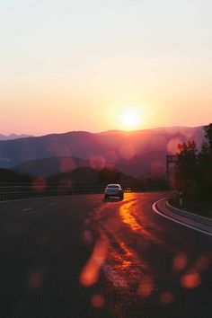 Drive into the sunset and let the adventures begin.