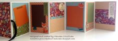 Accordion book by Let's Give 'em Something to Scrap About! Using the Pathfinding paper pack and Complements.