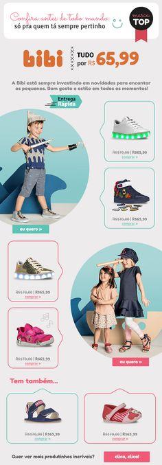 E-mail extra da marca Bibi Shopping, Style