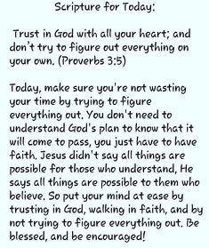 Scripture For Today, Daily Scripture, Daily Devotional, Bible Verses Quotes, Faith Quotes, Prayer Scriptures, Bible Prayers, Faith Prayer, Prayer Quotes