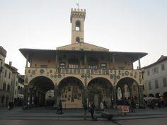 het stadhuis Palazzo d'Arnolfo