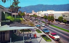 Lake Avenue Pasadena, California (1950s)