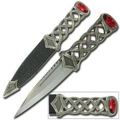 Scottish Gaelic Sgain Dubhs Celtic Dagger Knife