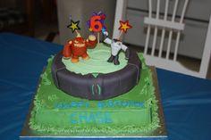 Skylanders Cake Birthday Cakes, Birthday Ideas, Skylanders, Birthdays, Party, Desserts, Kids, Food, Decor