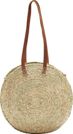 Lucena Round Shopper Basket