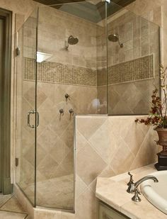 Bathroom Remodel Corner Shower angled shower ideas | neo-angled-corner-showers-marlboro | ideas