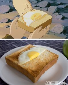 Castle in the Sky breakfast - Jesse and I had this on our honeymoon! <3