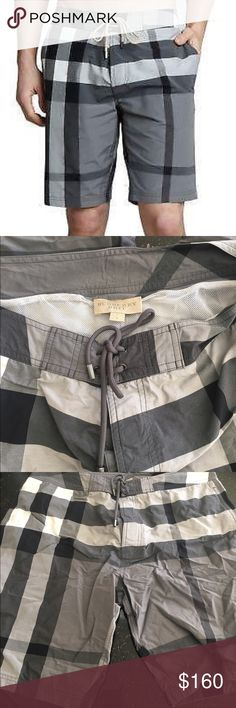 Mens Burberry bathing suit Worn twice, excellent condition Burberry Swim Board Shorts