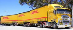 Australia - GKR Transport (DHL Road Train) | Flickr - Photo Sharing!