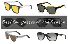 ...because while you're protecting your eyes from that pesky sun, you might as well look at the same time.         Sunglasses are like shoes, you
