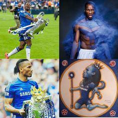 King and Legend Didier Drogba!!   ⚽️👑💯🎉💂💲📷😈📱🌎👑⭐⚽🏆  #cfc #chelsea #chelseafc #chelseafans #chelseafamily #hazard #courtois #azpilicueta  #cahill #terry #davidluiz #moses #alonso #kante #matic #pedro #costa #diegocosta #willian #fabregas #batshuayi #zouma #begovic #england #premierleague #epl #conte