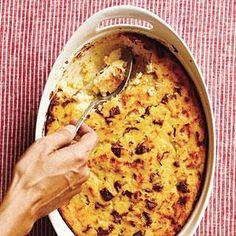 Casserole Recipe : Sausage and Polenta Breakfast Casserole