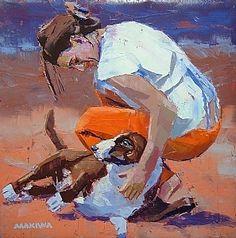 makiwa mutomba   gentle friend #englishbullterrier