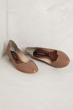 Matt Bernson Izabel Mini-Wedges in taupe #anthropologie