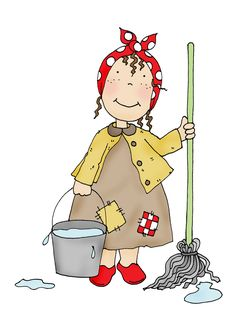 Cleaning Day #clipart
