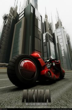 Akira - The Legend Comes Alive Poster 2 by Harrell Erik Wong | 3D | CGSociety