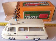 �koda  1203 sanitka - retro aut��ko, hra�ka Retro 1, My Childhood, Memories, Toys, Humor, History, Nostalgia, Cheer, Toy